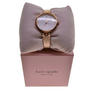 Kate Spade Holland Rose Gold Scalloped Watch